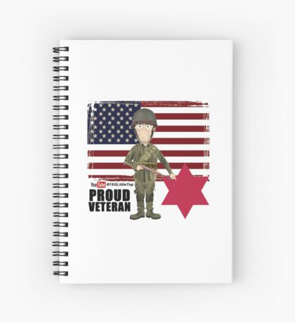 6th Infantry Division- Proud Veteran Spiral Notebook