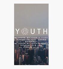 youth - troye sivan Photographic Print