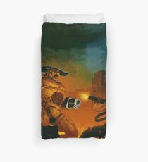 Hell On Earth Duvet Cover