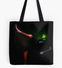 Portrait with painted light Tote Bag