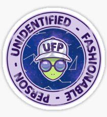 UFP - Unidentified Fashionable Person Sticker