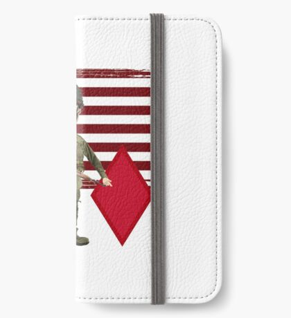 5th Infantry Division- Proud Veteran iPhone Wallet