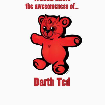 """Darth Ted: Awesomeness"" cartoon tee shirt by JasonTowers"