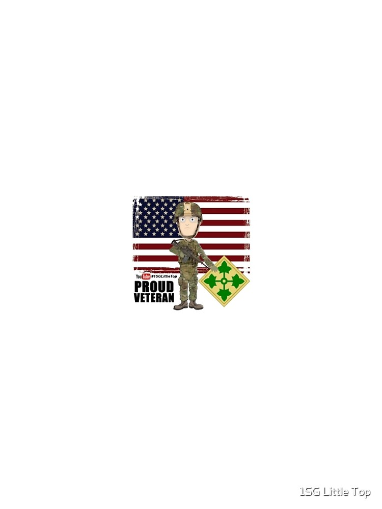 4th Infantry Division - Proud Veteran of OIF / OEF by FatCrayon