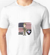 2nd Infantry Division - Proud Veteran T-Shirt