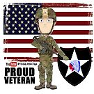 2nd Infantry Division - Proud Veteran by 1SG Little Top