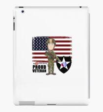 2nd Infantry Division - Proud Veteran iPad Case/Skin