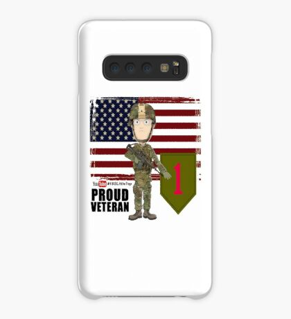 1st Infantry Division - Proud Veteran Case/Skin for Samsung Galaxy