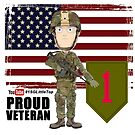 1st Infantry Division - Proud Veteran by 1SG Little Top