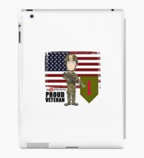 1st Infantry Division - Proud Veteran iPad Case/Skin