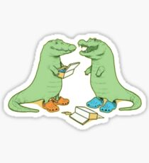 Crocs in crocs Sticker