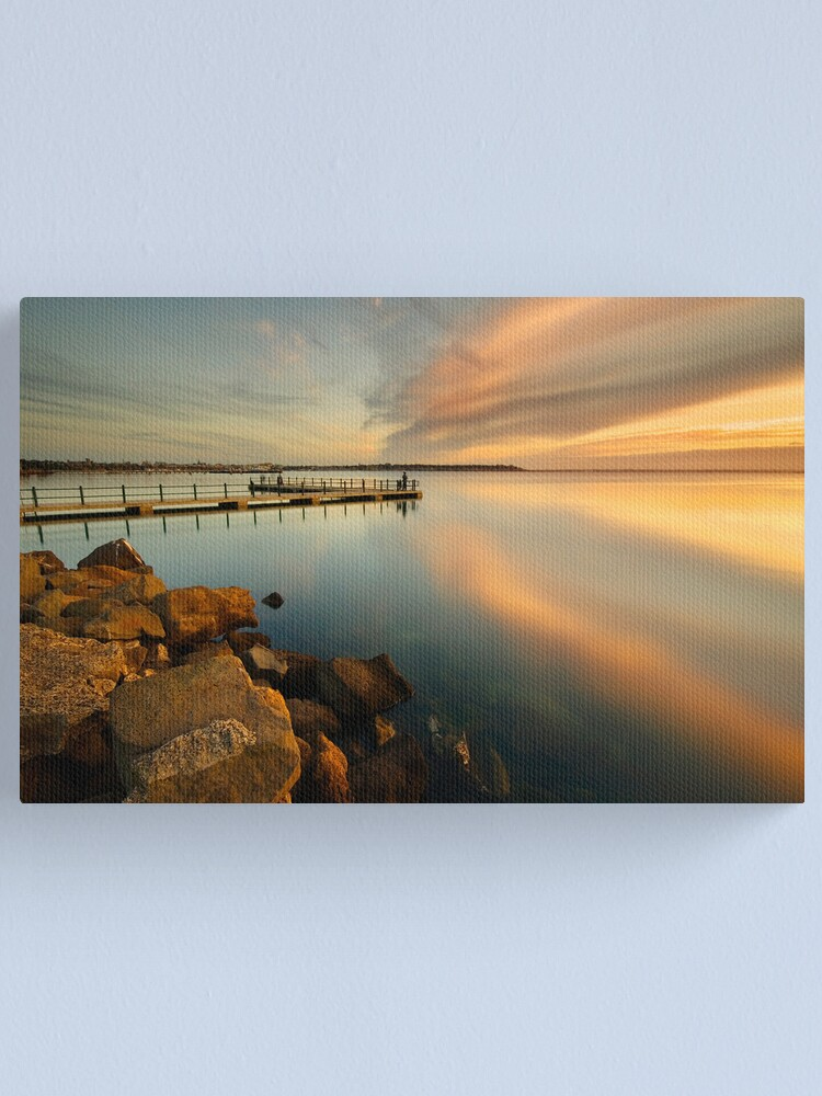 Alternate view of Sunrise at St Helens Canvas Print