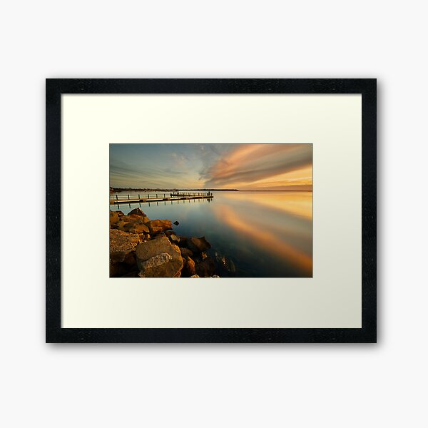 Sunrise at St Helens Framed Art Print