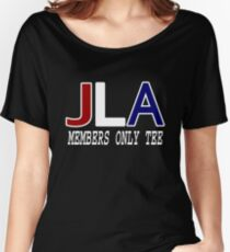 JLA Members Only. Women's Relaxed Fit T-Shirt