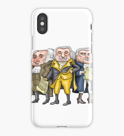 Founding Fathers | By Graeme MacKay iPhone Case