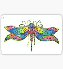 Meditation dragonfly  Sticker