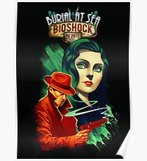 Bioshock Infinite: Booker and Elizabeth Poster