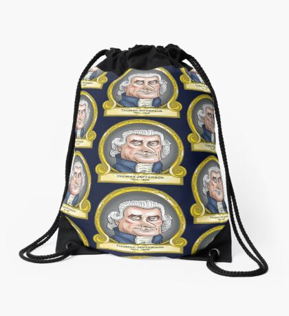 President Thomas Jefferson Drawstring Bag