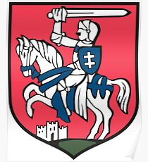 Puławy Coat Of Arms Poster