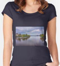 Prague, Czech Republic Women's Fitted Scoop T-Shirt