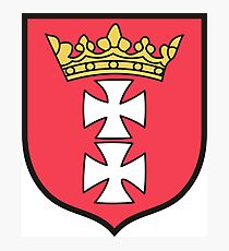Gdańsk Coat Of Arms Photographic Print