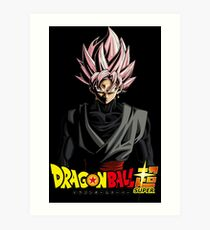 Goku Black Art Print