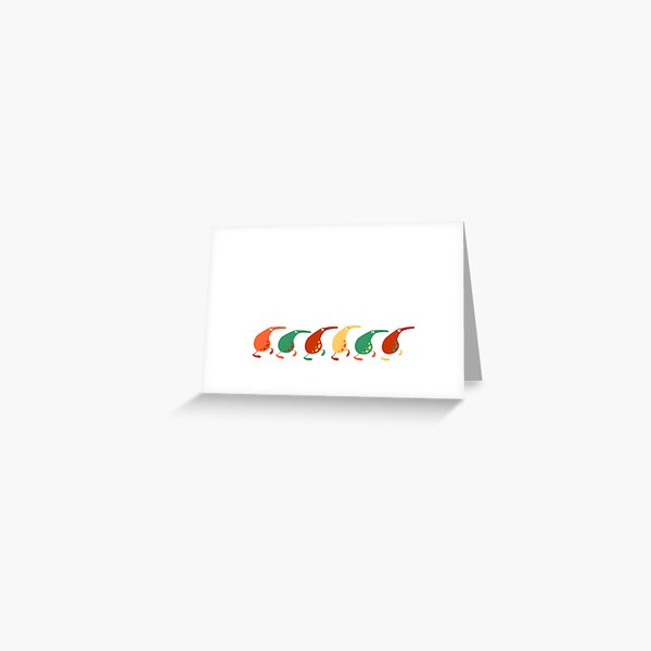 Pipuri March Greeting Card