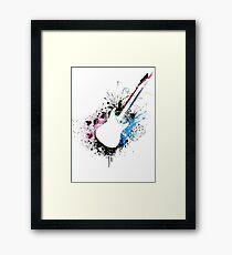 Music Guitar Framed Print