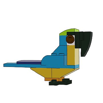 Brick Macaw by katecrashed