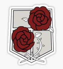 garrison regiment sticker snk Sticker