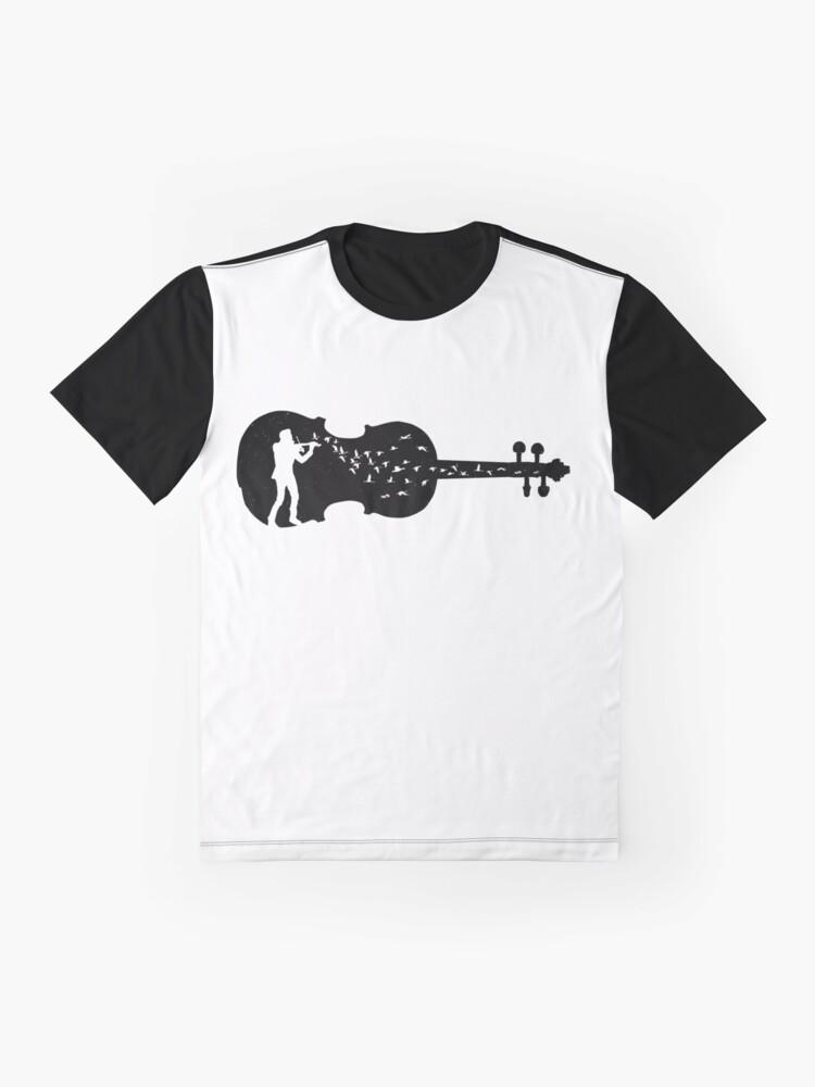 Alternate view of Violinist Graphic T-Shirt