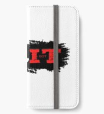 Grit, strength, endurance and toughness, you need this if you run marathon, train combat sport, body building, weight lifting or run marathon iPhone Wallet/Case/Skin