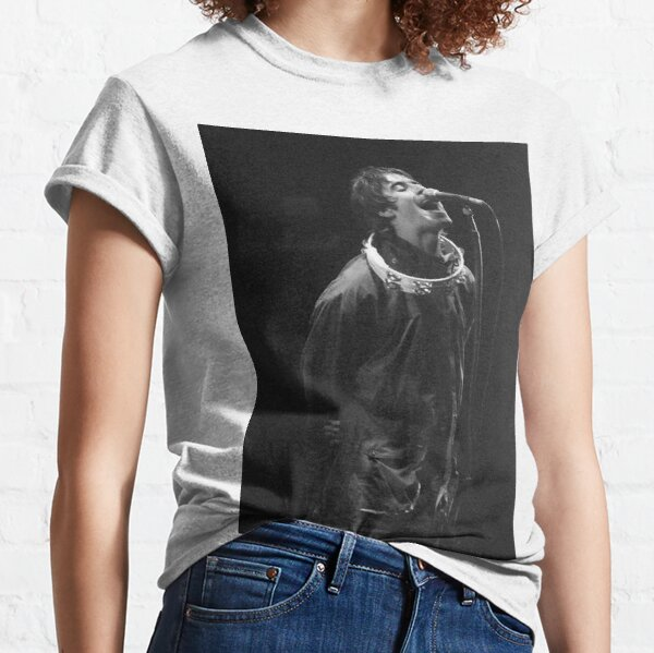 Liam Gallagher Print Classic T-Shirt