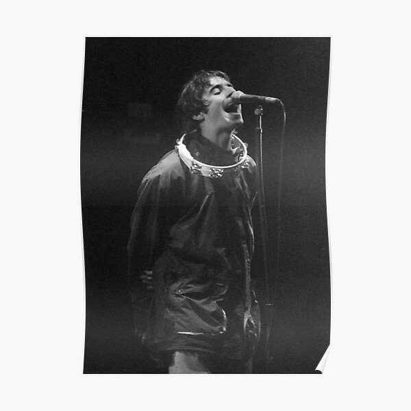 Liam Gallagher Print Poster