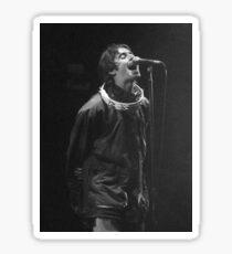 Liam Gallagher Print Sticker