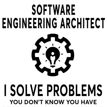 SOFTWARE ENGINEERING ARCHITECT BEST DESIGN 2017 by gaethin