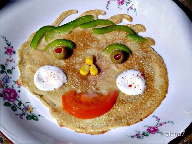feel like eating a pancake by elena7