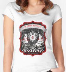 Der Nachtzirkus Tailliertes Rundhals-Shirt