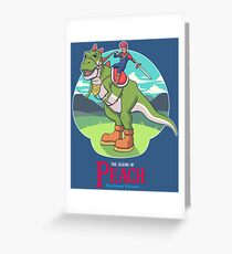 The Legend of Peach Greeting Card