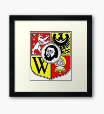 Wroclaw Coat Of Arms Framed Print
