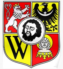 Wroclaw Coat Of Arms Poster