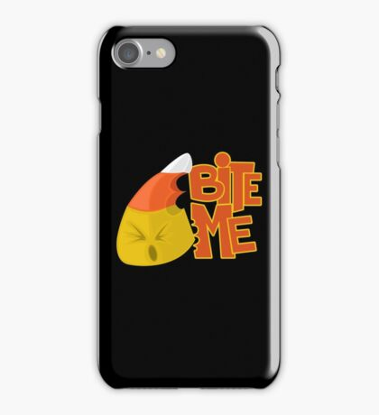 Bite Me - Candy Corn iPhone Case/Skin