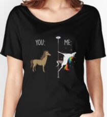 You and Me Unicorn Shirt Women's Relaxed Fit T-Shirt