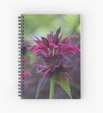 Bee mine_Monarda bee balm Spiral Notebook