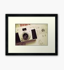 Vintage Captures Framed Print