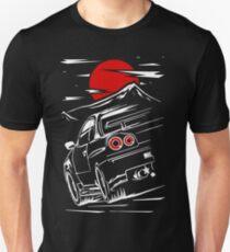 Camiseta unisex Nissan Skyline GTR 34 | Haruna