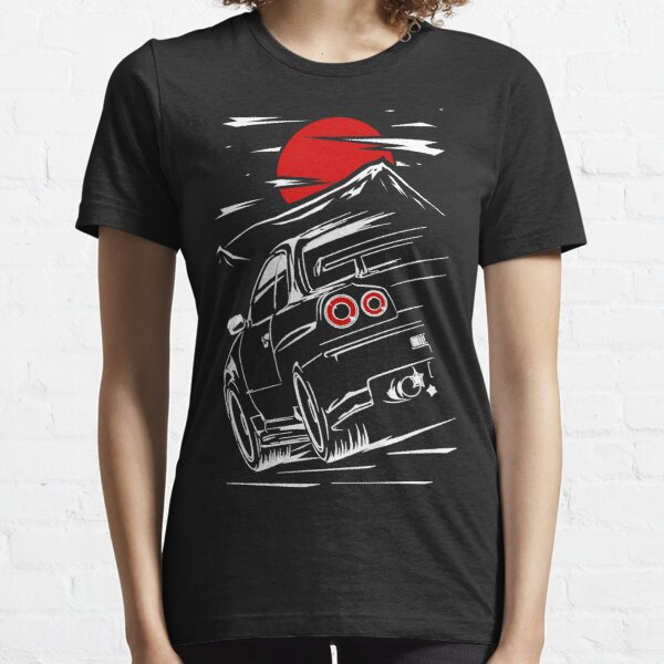 Nissan Skyline GTR 34 | Haruna Essential T-Shirt