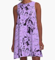 Great Dane Grand Danois Lilac A-Line Dress