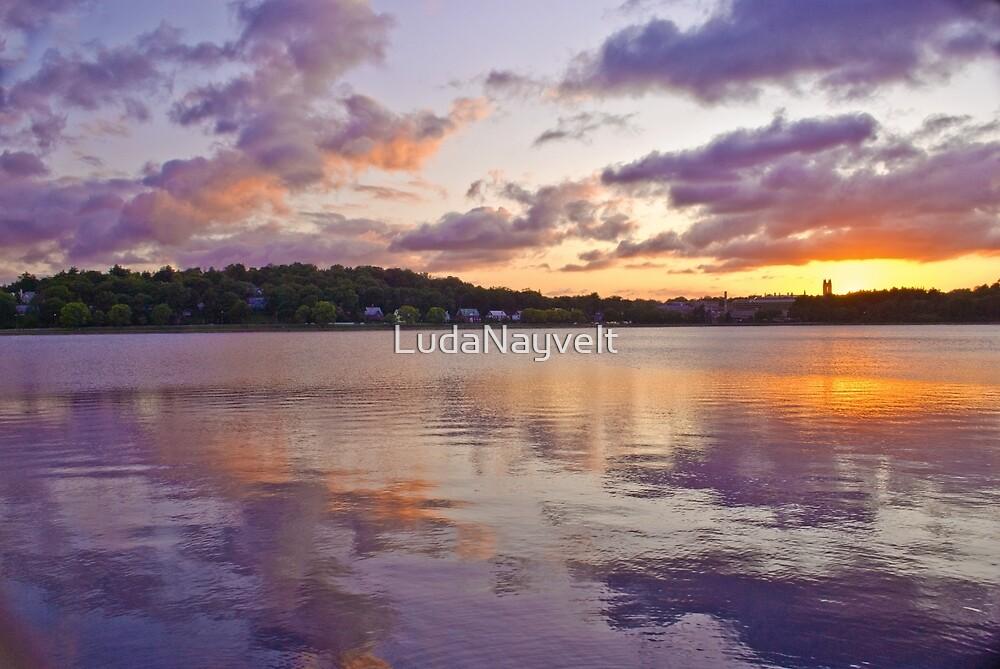 REFLECTION OF THE SKY by LudaNayvelt