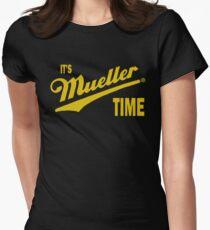es & amp; s Mueller Zeit - GOLD Tailliertes T-Shirt für Frauen